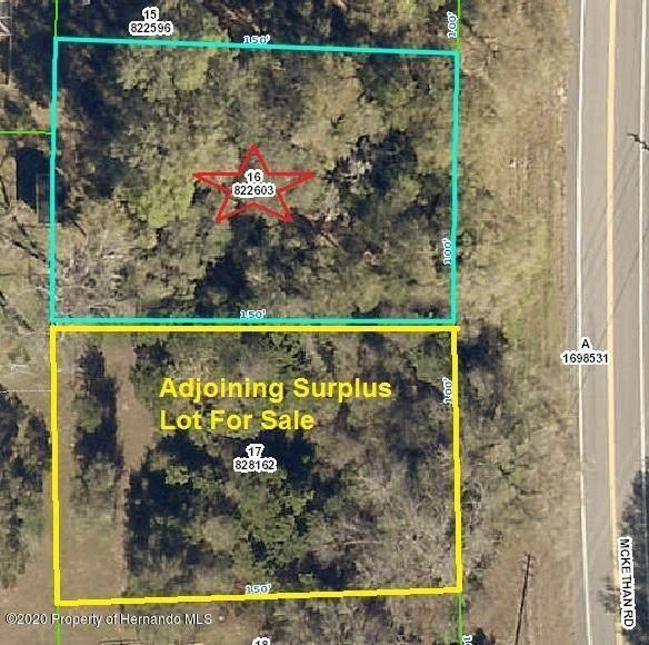 000000 Mckethan Road, Ridge Manor, FL 33523 (MLS #2209459) :: Premier Home Experts