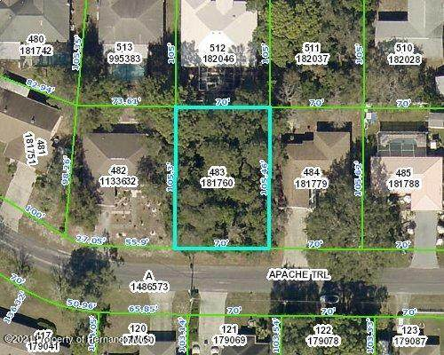 0 Apache Trail, Spring Hill, FL 34606 (MLS #2216217) :: Premier Home Experts