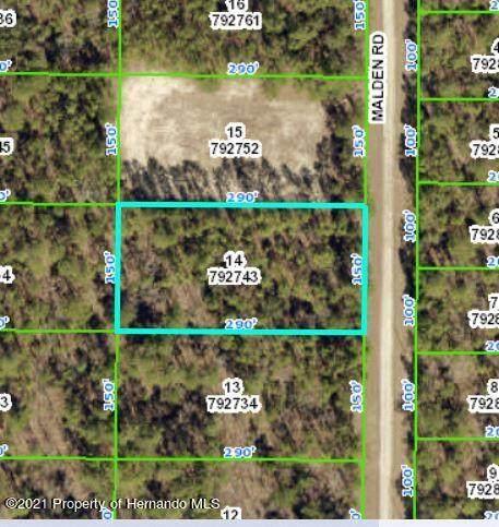 0 Malden Road, Brooksville, FL 34614 (MLS #2220317) :: Dalton Wade Real Estate Group