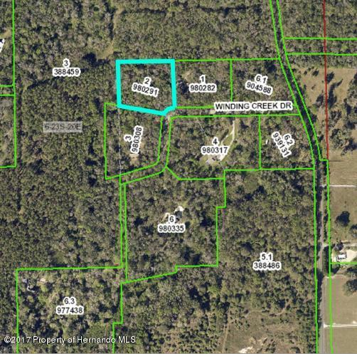0 Winding Creek, Brooksville, FL 34601 (MLS #2185886) :: The Hardy Team - RE/MAX Marketing Specialists