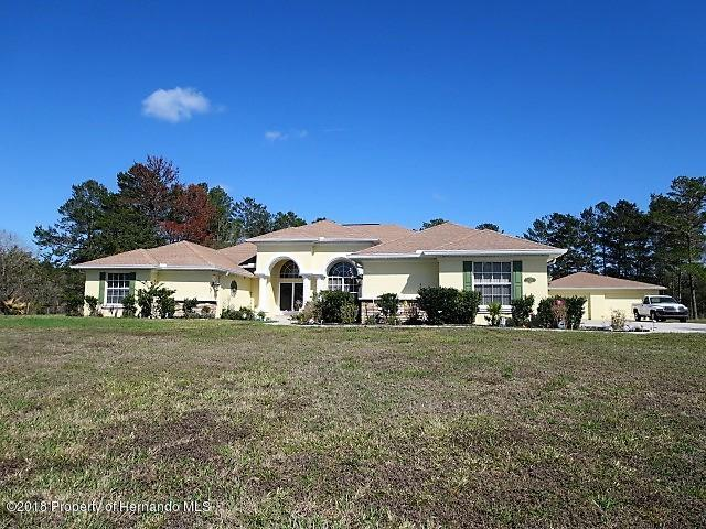 10130 Lazy Days Court, Weeki Wachee, FL 34613 (MLS #2189430) :: The Hardy Team - RE/MAX Marketing Specialists