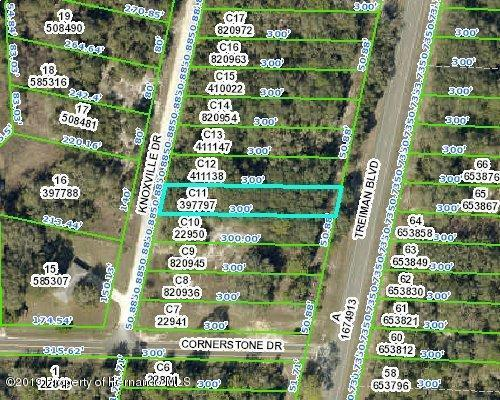 0 Knoxville Drive, Ridge Manor, FL 33523 (MLS #2199370) :: The Hardy Team - RE/MAX Marketing Specialists