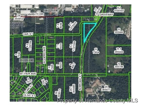 0 Oak Street, Brooksville, FL 34601 (MLS #2168485) :: Premier Home Experts