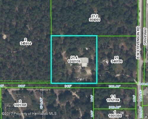 7485 B Stevenson Road, Brooksville, FL 34613 (MLS #2170518) :: The Hardy Team - RE/MAX Marketing Specialists