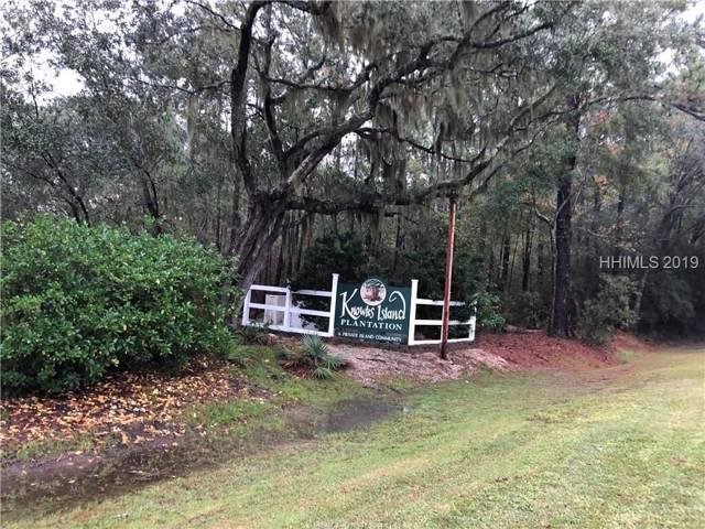 Lot 89 Knowles Island Plantation, Ridgeland, SC 29936 (MLS #398453) :: RE/MAX Coastal Realty