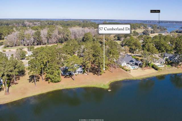 57 Cumberland Drive, Bluffton, SC 29910 (MLS #400473) :: The Coastal Living Team