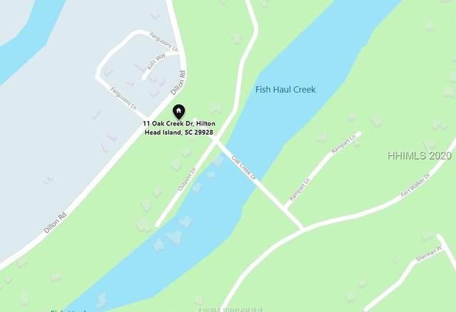 11 Oak Creek Drive, Hilton Head Island, SC 29928 (MLS #400566) :: Schembra Real Estate Group
