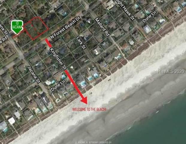 13 Jacana Street, Hilton Head Island, SC 29928 (MLS #400631) :: The Coastal Living Team