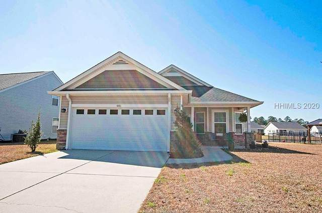 481 Hearthstone Drive, Ridgeland, SC 29936 (MLS #400933) :: The Coastal Living Team