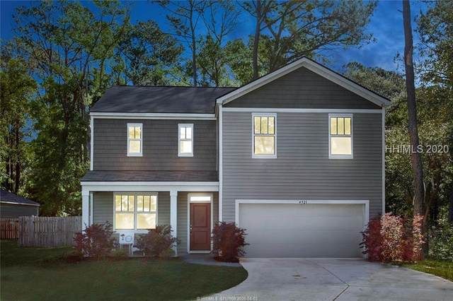 4921 Breeze Way, Beaufort, SC 29907 (MLS #401501) :: Schembra Real Estate Group