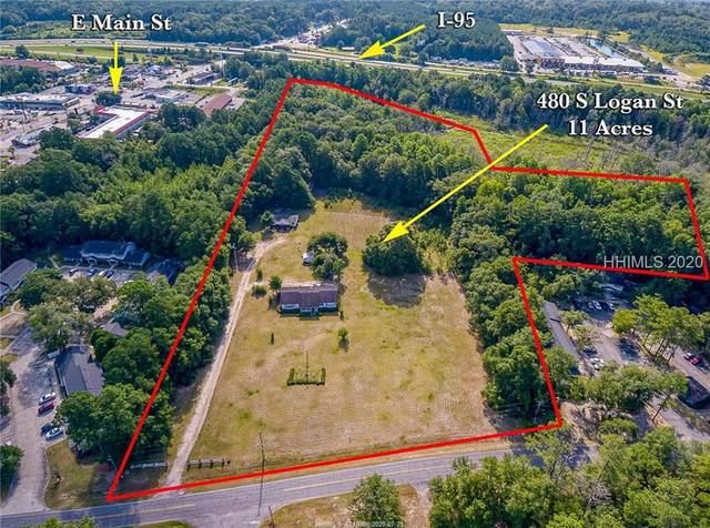 480 S Logan Street, Ridgeland, SC 29936 (MLS #405609) :: Hilton Head Dot Real Estate
