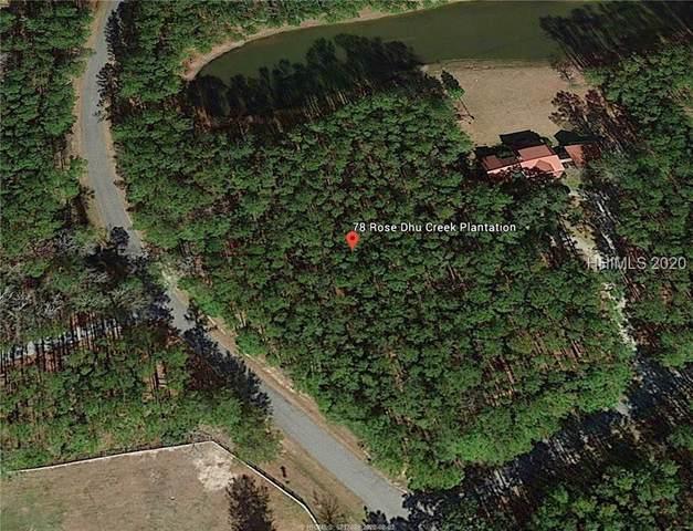 78 Rose Dhu Creek Plantation Drive, Bluffton, SC 29910 (MLS #405993) :: Judy Flanagan