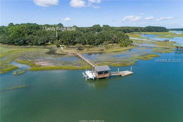 7 S Sandy Ridge Road, Beaufort, SC 29902 (MLS #408966) :: The Coastal Living Team