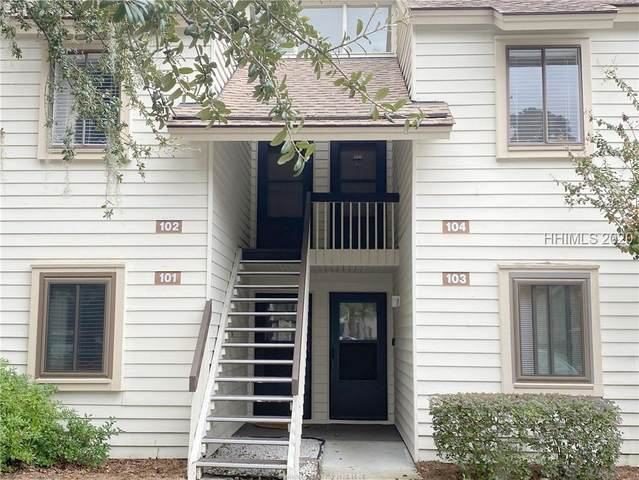 25 Deallyon Avenue #104, Hilton Head Island, SC 29928 (MLS #409789) :: Collins Group Realty