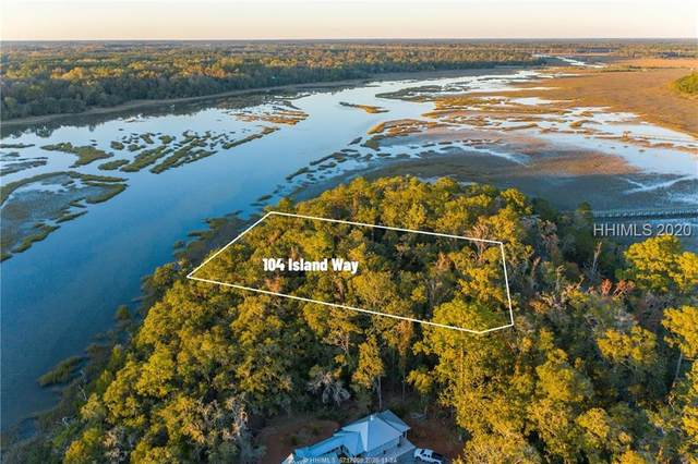 104 Island Way, Seabrook, SC 29940 (MLS #410238) :: The Alliance Group Realty