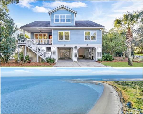 14 Ocean Marsh Lane, Saint Helena Island, SC 29920 (MLS #410857) :: Schembra Real Estate Group