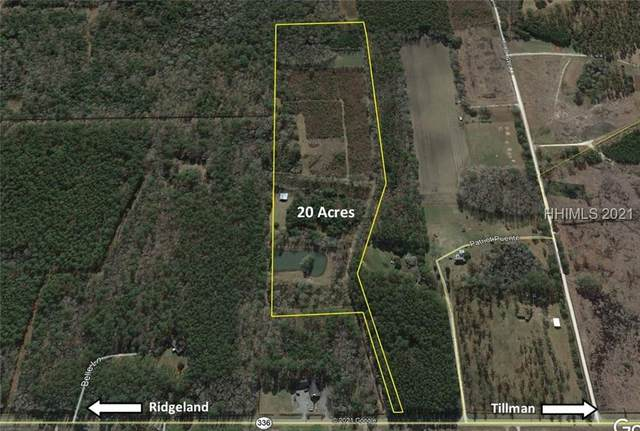 1382 Tillman Road, Ridgeland, SC 29936 (MLS #413967) :: Hilton Head Dot Real Estate