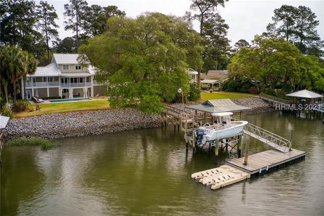 4 Okatie Road, Bluffton, SC 29909 (MLS #414423) :: Luxe Real Estate Services