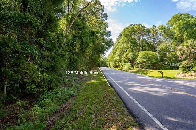 138 Middle Road, Beaufort, SC 29907 (MLS #415027) :: The Bradford Group