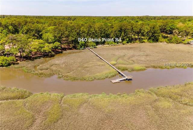 540 Sams Point Road, Beaufort, SC 29907 (MLS #415031) :: The Bradford Group