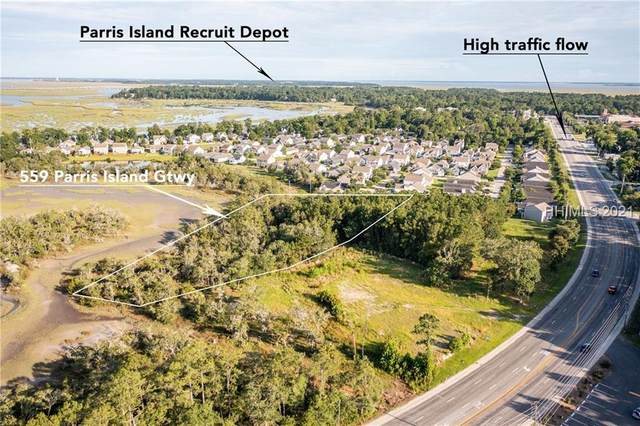 559 Parris Island Gateway, Beaufort, SC 29906 (MLS #416338) :: Coastal Realty Group