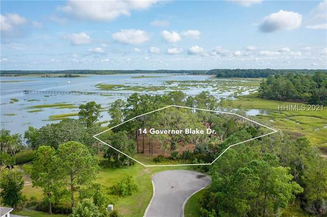 14 Governer Blake Drive, Ladys Island, SC 29907 (MLS #416846) :: Coastal Realty Group