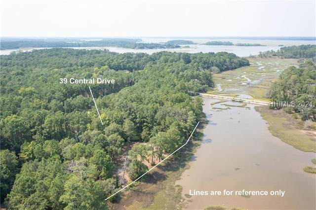 39 Central Drive, Beaufort, SC 29907 (MLS #417856) :: Southern Lifestyle Properties