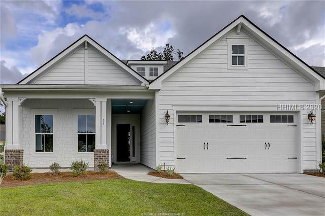 54 Foxpath Lane, Bluffton, SC 29910 (MLS #400427) :: The Coastal Living Team