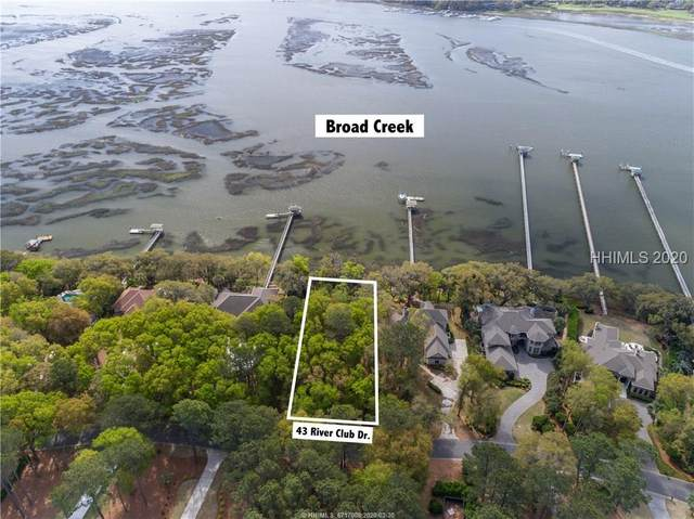 43 River Club Drive, Hilton Head Island, SC 29926 (MLS #400816) :: The Coastal Living Team