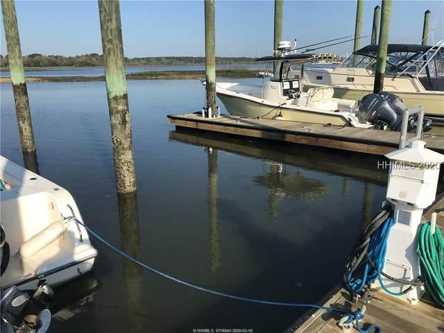 135 Village Of Skull Creek Boat Slip, Hilton Head Island, SC 29926 (MLS #401369) :: The Sheri Nixon Team