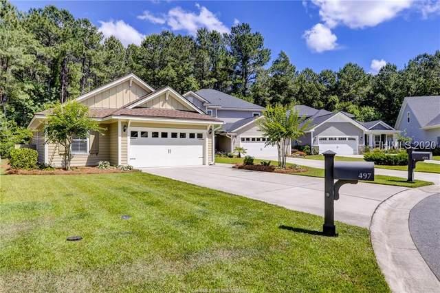 497 Hampton Lake Drive, Bluffton, SC 29910 (MLS #402693) :: Southern Lifestyle Properties