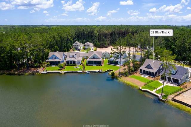 21 Blue Trail Court, Bluffton, SC 29910 (MLS #402932) :: The Coastal Living Team