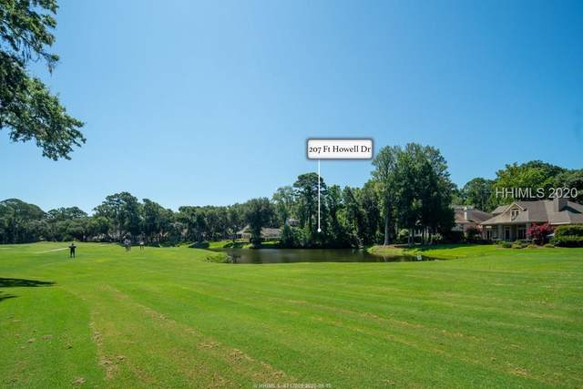 207 Fort Howell Drive, Hilton Head Island, SC 29926 (MLS #404702) :: Hilton Head Dot Real Estate