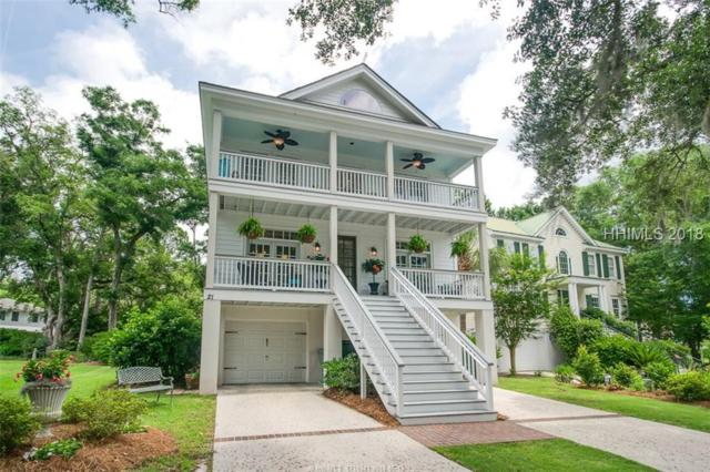 21 Mossy Oaks Lane, Hilton Head Island, SC 29926 (MLS #382719) :: Collins Group Realty