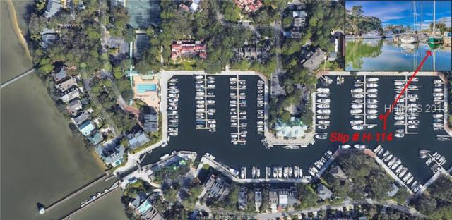H-114 Windmill Harbour Marina, Hilton Head Island, SC 29928 (MLS #388479) :: Charter One Realty