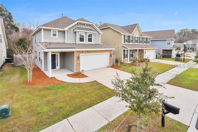 61 Shell Hall Way, Bluffton, SC 29910 (MLS #399383) :: The Coastal Living Team