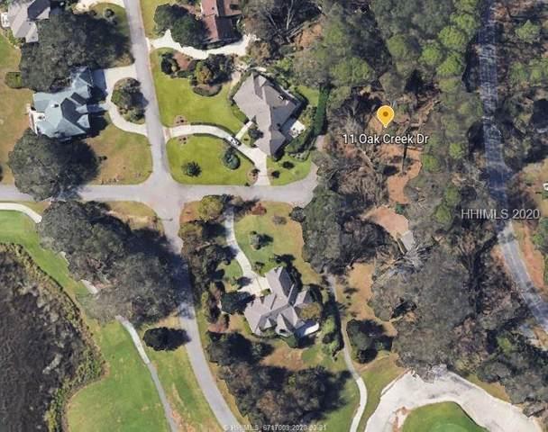 11 Oak Creek Drive, Hilton Head Island, SC 29928 (MLS #400566) :: The Coastal Living Team