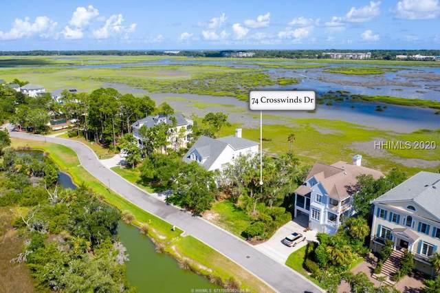 74 Crosswinds Drive, Hilton Head Island, SC 29926 (MLS #405599) :: Schembra Real Estate Group