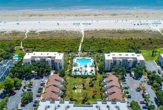 21 S Forest Beach Drive #418, Hilton Head Island, SC 29928 (MLS #407805) :: The Coastal Living Team