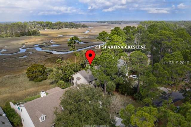 21 Spartina Crescent, Hilton Head Island, SC 29928 (MLS #390336) :: The Alliance Group Realty