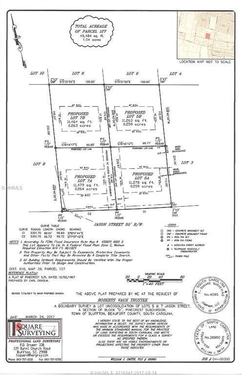7A Jason Street, Bluffton, SC 29910 (MLS #367358) :: RE/MAX Coastal Realty