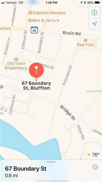 67 Boundary Street, Bluffton, SC 29910 (MLS #379832) :: RE/MAX Coastal Realty