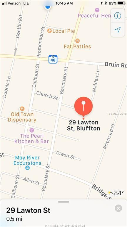 29 Lawton Street, Bluffton, SC 29910 (MLS #385104) :: Collins Group Realty
