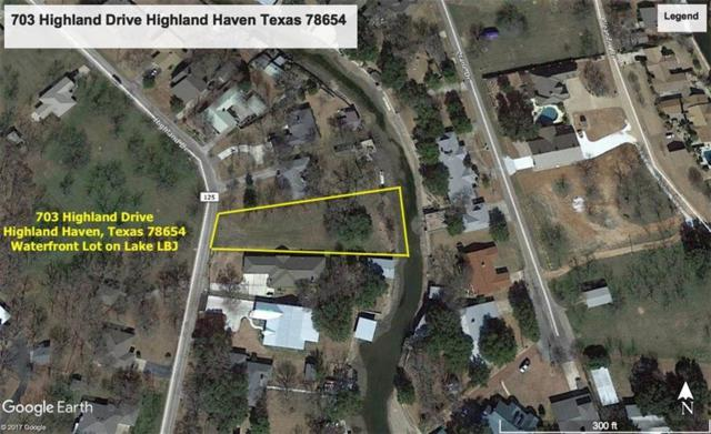 703 Highland Drive, Marble Falls, TX 78654 (#142388) :: The ZinaSells Group