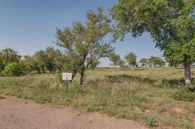 Lot 30 Eagle Feather, Kingsland, TX 78639 (#143845) :: The ZinaSells Group