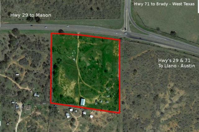 3436 Highway 29 W, Llano, TX 78643 (#144310) :: The ZinaSells Group