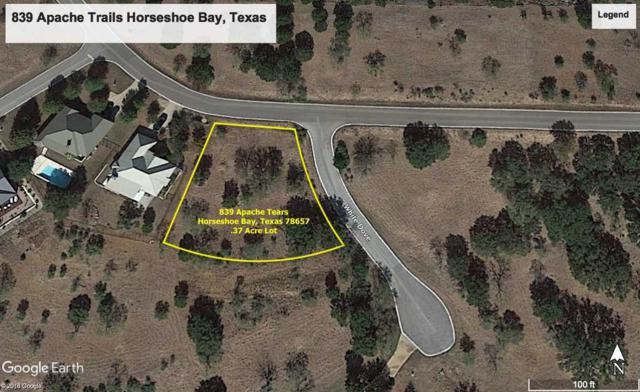 839 Apache Tears, Horseshoe Bay, TX 78657 (#145222) :: The ZinaSells Group