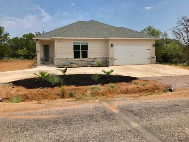 142 Greenbriar Drive W, Granite Shoals, TX 78654 (#145230) :: The ZinaSells Group