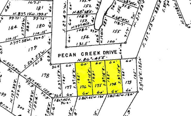 Lots 174-176 Pecan Creek Drive, Horseshoe Bay, TX 78657 (#146637) :: The ZinaSells Group