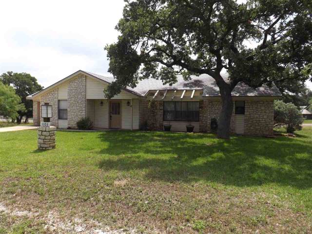1103 Powder Horn, Horseshoe Bay, TX 78657 (#149638) :: Zina & Co. Real Estate